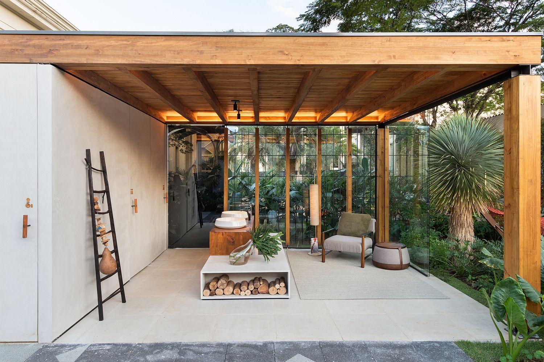 أسقف خشب ديكور