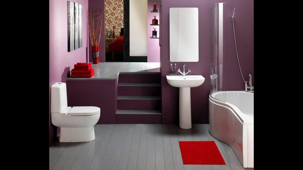 استخدام الالوان و الديكور في حمامك