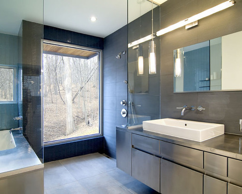 بعض افكار ديكورات حمامات كبيرة 2020
