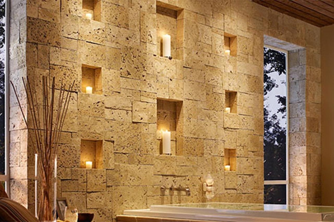 ديكورات حوائط حجر هاشمى