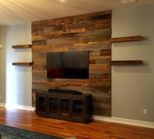 ديكور خشب للحائط