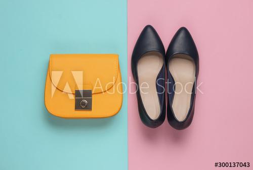 ديكور محلات أحذية وشنط